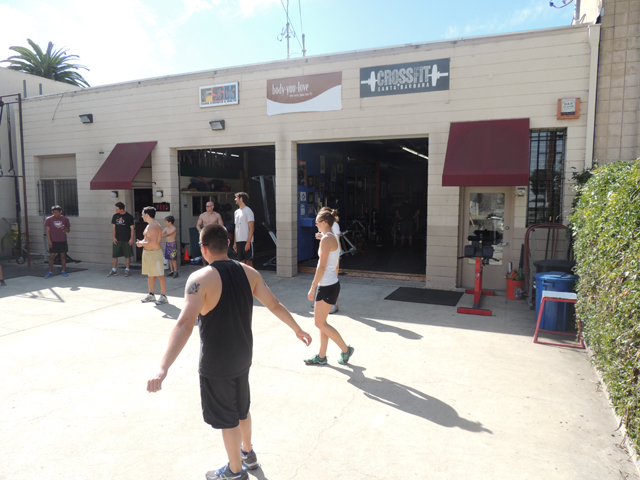 crossfit first view