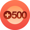 500+ people follow Charron's Chatter on Wordpress alone!